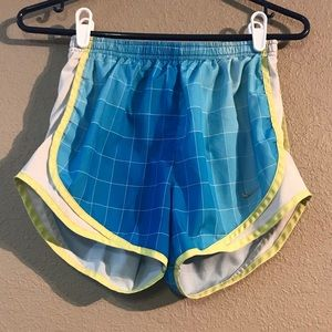 🌻 (3/15) Size XS Nike Women's Shorts Blue Yellow